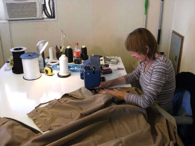 Canvas Repair And Sewing