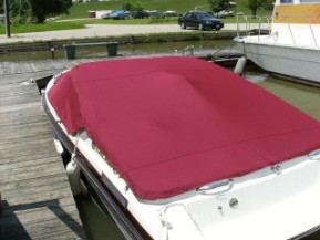 Custom Cockpit cover snap on boat covers