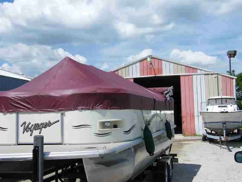 Pontoon covers